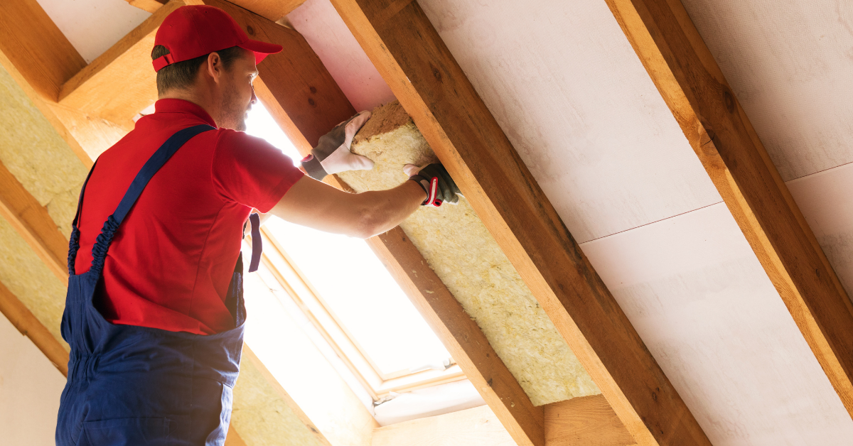 Attic Insulation for energy efficiency during winter